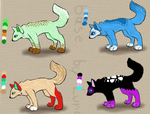 Wolf Adopts PRICE LOWERED by ZombieWolf828