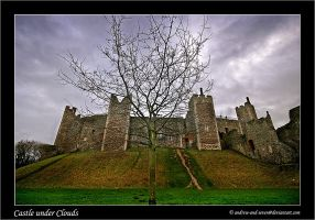Castle under Clouds by Andrew-and-Seven