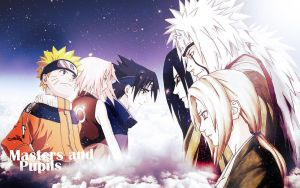 Naruto Masters and Pupils by Bontzy123