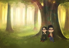 Aggie Prendergast and Norman (ParaNorman) by HappyFreska