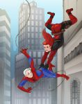 Heroic Action Dive! SpideyMarcus FranPool version by kitsune2022