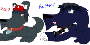 Father and Son by Spaniel-Of-Cyd0NIA