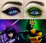 Kick-ass makeup! by scarlet-moon1