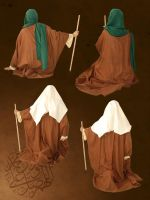 Arab's old style clothes 2 by Mustafa-H