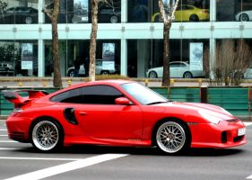 Truly beautiful, GEMBALLA 996 GTR by toyonda