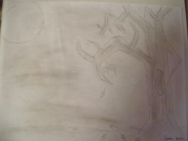 Tree Sketch by SonicAmp