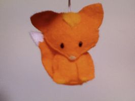 plushie fox strap by apple-pai