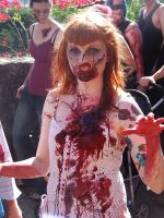 Zombie Redhead 2 by Rosary0fSighs