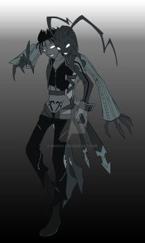 Larxene and Demyx Heartless 2 by Minda1