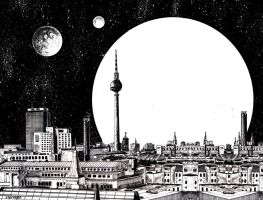 Future city of Berlin by sternban