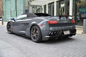 gray Lamborghini Performante by Hcitron