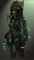 FEMALE_PREDATOR_3_by_tdm_studios by Xeno-Crazy
