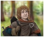 Bilbo - There and Back Again by Loony-Lucy