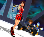 MMD KH - This Time...- SoKai by XxChocolatexHeartsxX