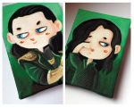 Loki magnet minicanvas part II by Nachan