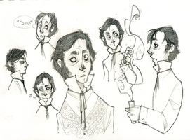 Henry Jekyll sketches by AgentDax