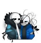 Ganz and Sansy by SilverFlame666