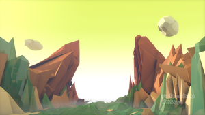 Low poly Canyon by Valouchou