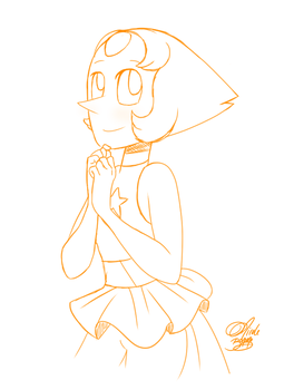 Pearl Sketch by colorfulkitten