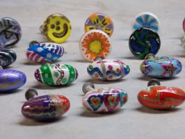 CUSTOM Painted Dresser Knobs/Handles3 by whsprluv69
