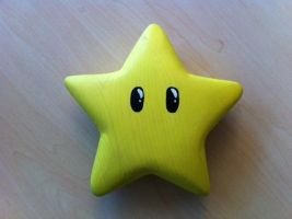 the mario star by katze-des-grauens