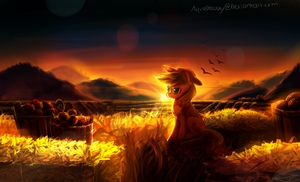 MLP : Applejack by AquaGalaxy