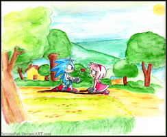 Sonic X: 'Rose for a Rose' by SeriousFun