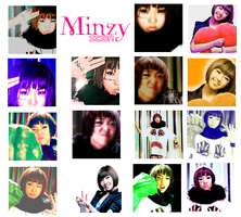 Minzy Icons by TsukiNita
