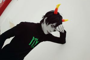 Homestuck -  Just  Don't Look At Me by miosilence