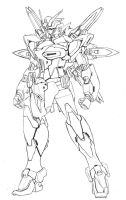 Request: Gundam Malebolge by Rekkou