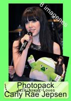 Photopack Carly Rae Jepsen -2- by Jazminswag-Editions