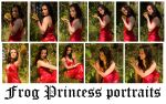 Frog Pincess portraits by syccas-stock