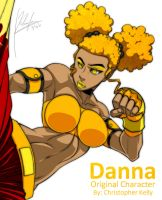 Danna Close Up by Blasian89