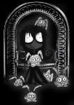 Soot girl and the dust Bunnies by Little-Horrorz