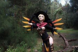 Witch Mercy III by MeganCoffey