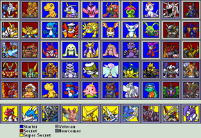 DRA3: Character Select - 2nd Edition (OUTDATED) by mrmann123