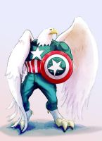 Captain American Eagle TM by BenBrush