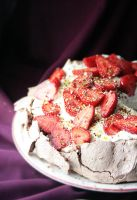 Chocolate Strawberry Pavlova 2 by sasQuat-ch