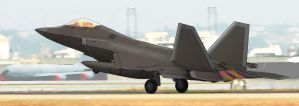 PT-ACS F-22 Cartoonified by PrinzEugn