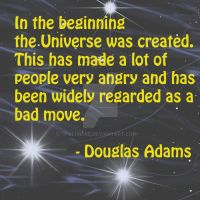 Douglas Adams Quote by BluRose