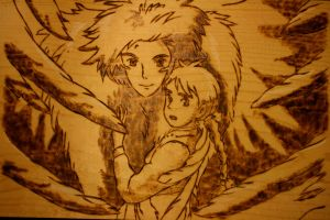 Howl and Sophie by artemis5096