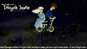 Tricycle Jaune by InnuendoPatlong