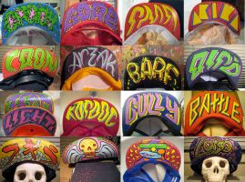 HATS 2007-2010 by RottenOak