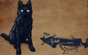 .:Yuki_The Snowflake Wolf.: by WhiteSpiritWolf