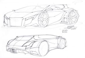 Audi RSU Concept by ShadyDesigns