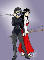 Shadow and Rei by Inspector97 by gundam20012005