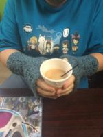 Fingerless Gloves/Arm Warmers Commissioned by ArwynAtreides