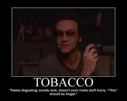 Tobacco Motivational Poster by jmg124