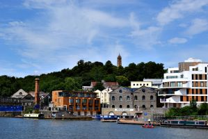 Bristol Harbourscape by sophhks