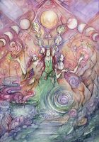 Temple of the Moon by saffronlungs